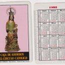 Coleccionismo Calendarios: CALENDARIO FOURNIER. CAJA DE AHORROS DEL CIRCULO CATÓLICO 1992. Lote 160901602