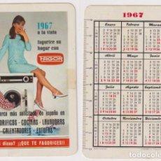 Coleccionismo Calendarios: CALENDARIO FOURNIER. FAGOR 1967. Lote 160904478