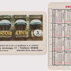 Coleccionismo Calendarios: CALENDARIO FOURNIER. GOOD LINE IAFISA 1975. Lote 160904674