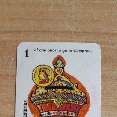 Coleccionismo Calendarios: CALENDARIO FOURNIER CAJA DE AHORROS DE ASTURIAS AÑO 1961 - VER FOTO ADICIONAL . Lote 161467250