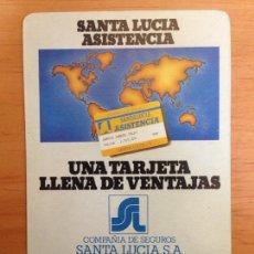 Coleccionismo Calendarios: CALENDARIO FOURNIER - SANTA LUCÍA AÑO 1987. Lote 161553024