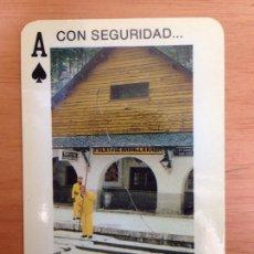 Coleccionismo Calendarios: CALENDARIO FOURNIER - RENFE, CON SEGURIDAD... AÑO 1985. Lote 161553830