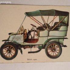 Coleccionismo Calendarios: CALENDARIO COCHE ANTIGUO BOLIDE 1900, AÑO 1970. Lote 161611378