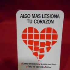Coleccionismo Calendarios: CALENDARIO DE BOSILLO - ALGO MAS LESIONA TU CORAZON - AÑO 1982 -. Lote 161627110