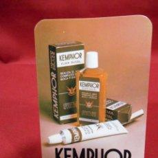 Coleccionismo Calendarios: CALENDARIO DE BOSILLO - KEMPHOR - AÑO 1981 -. Lote 161627770