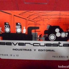 Coleccionismo Calendarios: CALENDARIO DE BOSILLO - SEVER CUESTA- AÑO 1967 -. Lote 161631150