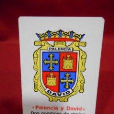 Coleccionismo Calendarios: CALENDARIO DE BOSILLO - PALENCIA DAVID RODRIGUEZ- AÑO 1977 -. Lote 161648966
