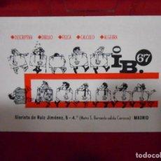 Coleccionismo Calendarios: CALENDARIO DE BOSILLO - ARQUITECTURA - AÑO 1968 -. Lote 161649130