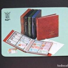 Coleccionismo Calendarios: CALENDARIO BOLSILLO - FILATELIA NUMISMATICA - SAFI - AÑO 1981. Lote 162009430
