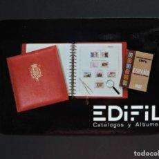 Coleccionismo Calendarios: CALENDARIO BOLSILLO - FILATELIA NUMISMATICA - EDIFIL - AÑO 1982. Lote 162011630