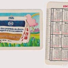 Coleccionismo Calendarios: CALENDARIO FOURNIER. BANCO BILBAO 1976. Lote 162176040