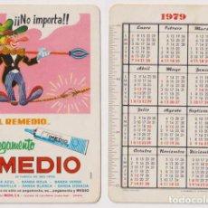 Coleccionismo Calendarios: CALENDARIO FOURNIER. IMEDIO 1979. Lote 162176521