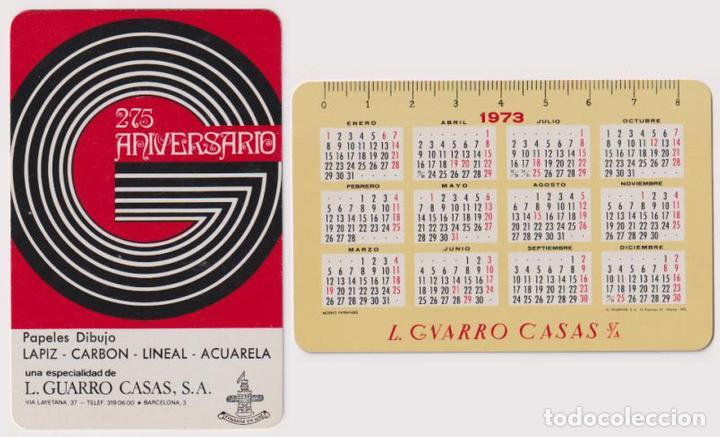 CALENDARIO FOURNIER. L. GUARRO CASAS 1973 (Coleccionismo - Calendarios)