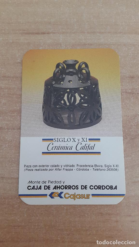 CALENDARIO NO FOURNIER - MONTE DE PIEDAD Y CAJA DE AHORROS DE CORDOBA (CAJASUR) AÑO 1987 - NUEVO (Coleccionismo - Calendarios)