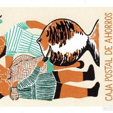 Coleccionismo Calendarios: CALENDARIO FOURNIER 1959 CAJA POSTAL DE AHORROS. Lote 162468074