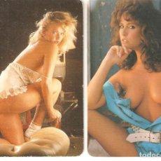 Coleccionismo Calendarios: LOTE 2 CALENDARIOS DE BOLSILLO ERÓTICOS. 1993 Y 1994. Lote 162468610