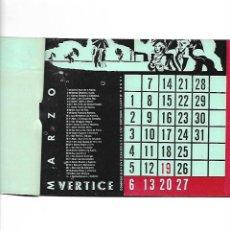 Coleccionismo Calendarios: AÑO 1938 GUERRA CIVIL CALENDARIO DE 1938 ENTERO SANTORAL ORIGINAL BIEN CONSERVADO. Lote 162617866