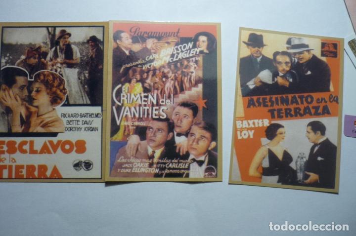 LOTE CALENDARIOS PELICULAS AMERICANAS 1947 (Coleccionismo - Calendarios)