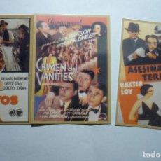 Coleccionismo Calendarios: LOTE CALENDARIOS PELICULAS AMERICANAS 1947. Lote 162944858