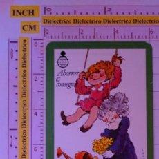 Coleccionismo Calendarios: CALENDARIO DE BOLSILLO FOURNIER. BANCOS CAJAS DE AHORRO. AÑO 1981. CAJA RONDA. . Lote 163626526