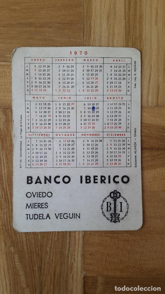 Coleccionismo Calendarios: CALENDARIO EDICIONES ALARDE (OVIEDO) - (BANCO IBERICO) - COVADONGA AÑO 1970 - VER FOTO ADICIONAL - Foto 2 - 163995574