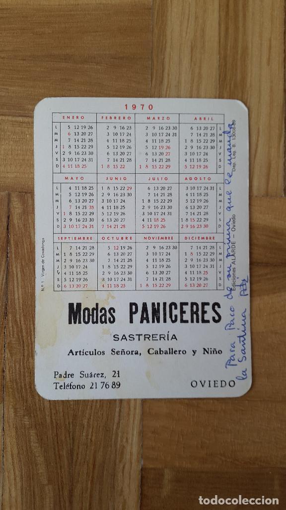 Coleccionismo Calendarios: CALENDARIO EDICIONES ALARDE (OVIEDO) - VIRGEN DE COVADONGA AÑO 1970 - VER FOTO ADICIONAL - Foto 2 - 163995954