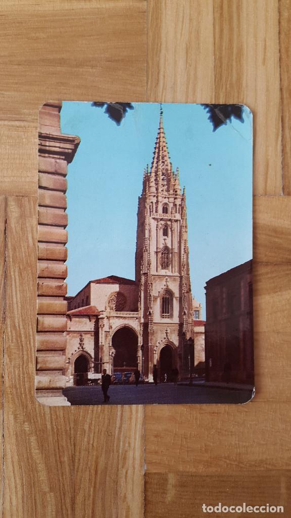 CALENDARIO EDICIONES ALARDE (OVIEDO) - CATEDRAL DE OVIEDO AÑO 1970 - VER FOTO ADICIONAL (Coleccionismo - Calendarios)