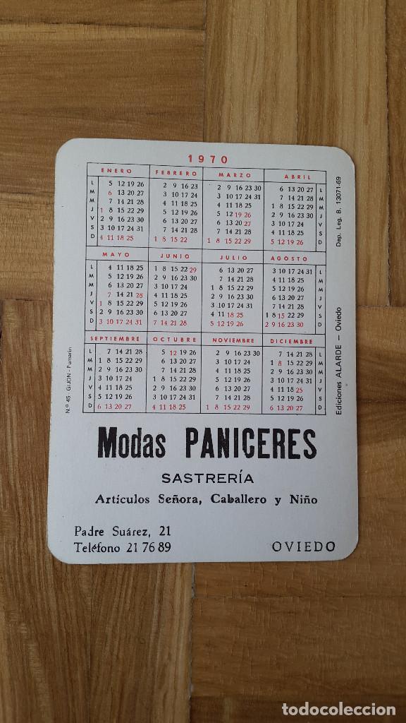 Coleccionismo Calendarios: CALENDARIO EDICIONES ALARDE (OVIEDO) - GIJON - PUMARIN AÑO 1970 - VER FOTO ADICIONAL - Foto 2 - 163996702
