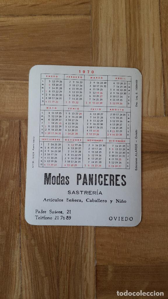 Coleccionismo Calendarios: CALENDARIO EDICIONES ALARDE (OVIEDO) - GIJON PUERTO INTERIOR (BARCOS) AÑO 1970 - VER FOTO ADICIONAL - Foto 2 - 163997086
