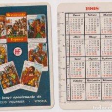 Coleccionismo Calendarios: CALENDARIO FOURNIER. HISTORIA DE ESPAÑA 1968. Lote 170918813