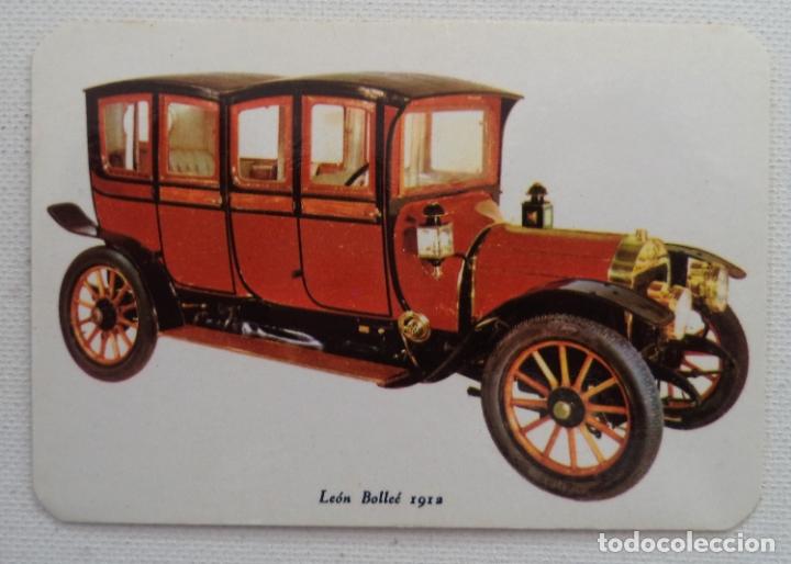 Calendario Auto.Calendario Serie Auto Leon Bollee 1912 Ano 1972