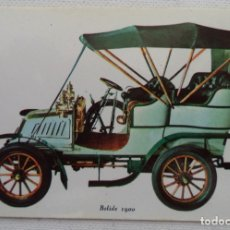Coleccionismo Calendarios: CALENDARIO SERIE AUTO BOLIDE 1900 AÑO 1972. Lote 164649762