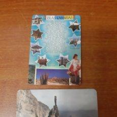 Coleccionismo Calendarios: 2 CALENDARIOS BOLSILLOS ISLAS CANARIAS. Lote 164870773