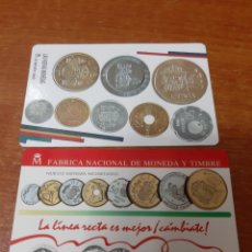 Coleccionismo Calendarios: 2 CALENDARIOS BOLSILLO FÁBRICA DE MONEDA Y TIMBRE. Lote 164871240