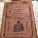 Coleccionismo Calendarios: CALENDARIO ZARAGOZANO 1896. Lote 164913377