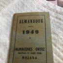 Coleccionismo Calendarios: ALMANAQUE 1949 CON PUBLICIDAD. Lote 164983921
