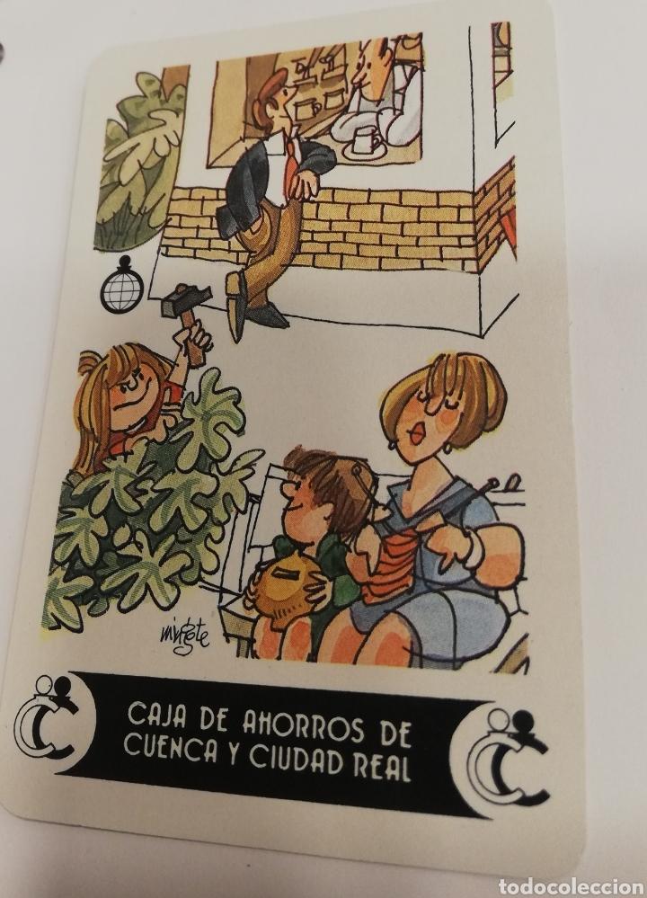 CALENDARIO FOURNIER CAJA DE AHORROS DE CUENCA Y CIUDAD REAL MINGOTE 1987 (Coleccionismo - Calendarios)