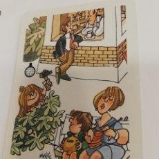 Coleccionismo Calendarios: CALENDARIO FOURNIER CAJA DE AHORROS DE CUENCA Y CIUDAD REAL MINGOTE 1987. Lote 165089069