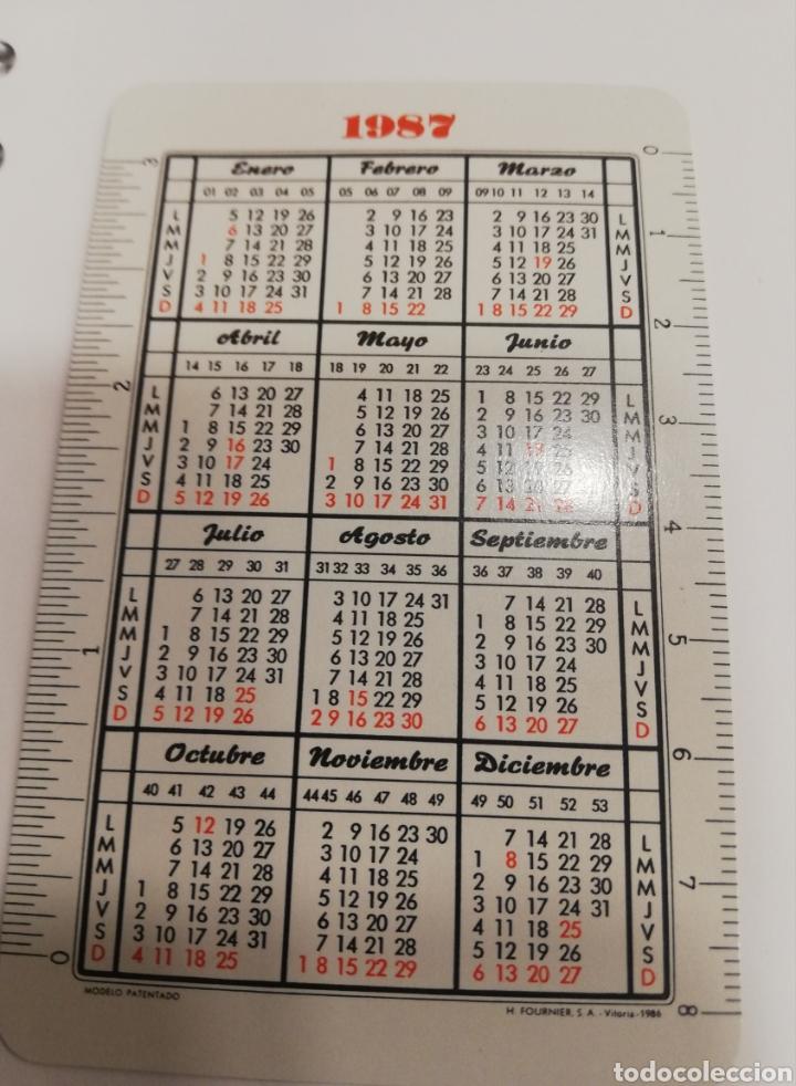 Coleccionismo Calendarios: Calendario Fournier caja de ahorros de Cuenca y ciudad real mingote 1987 - Foto 2 - 165089069