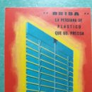 Coleccionismo Calendarios: CALENDARIO DE BOLSILLO 1968 PERSIANAS LAMA. Lote 165259057
