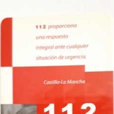 Coleccionismo Calendarios: CALENDARIO DEL 112. Lote 165260798
