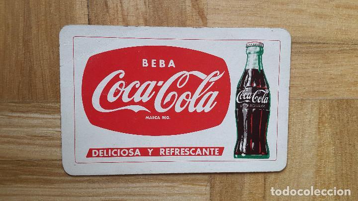 CALENDARIO FOURNIER COCA COLA AÑO 1960 - VER FOTO ADICIONAL (Coleccionismo - Calendarios)