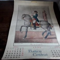Coleccionismo Calendarios: CALENDARIO, ALMANAQUE DE PARED, 1953. CABALLOS. Lote 165690654