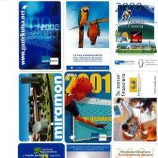 Coleccionismo Calendarios: CALENDARIOS DE BOLSILLO DE LA CAJA GIPUZKOA SAN SEBASTIAN KUTXA NO FOURNIER -COLECCION DE 49. Lote 165931938