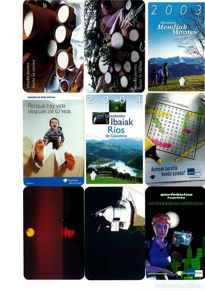 Coleccionismo Calendarios: Calendarios de bolsillo de la Caja Gipuzkoa San Sebastian KUTXA NO FOURNIER -Coleccion de 49 - Foto 2 - 165931938
