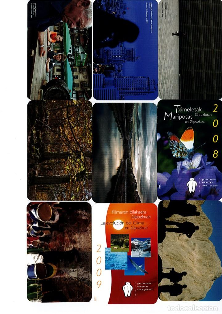 Coleccionismo Calendarios: Calendarios de bolsillo de la Caja Gipuzkoa San Sebastian KUTXA NO FOURNIER -Coleccion de 49 - Foto 4 - 165931938