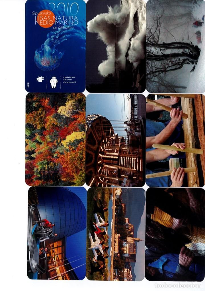 Coleccionismo Calendarios: Calendarios de bolsillo de la Caja Gipuzkoa San Sebastian KUTXA NO FOURNIER -Coleccion de 49 - Foto 5 - 165931938