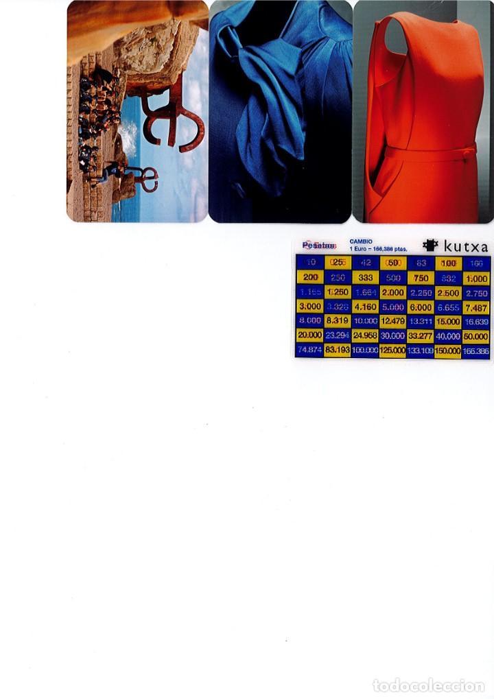 Coleccionismo Calendarios: Calendarios de bolsillo de la Caja Gipuzkoa San Sebastian KUTXA NO FOURNIER -Coleccion de 49 - Foto 6 - 165931938