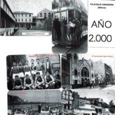 Coleccionismo Calendarios: LOTE DE 78 CALENDARIOS DE BOLSILLO DE LA FILATELIA UNAMUNO DESDE AÑO 2000 AL 2012 AÑOS COMPLETOS. Lote 166234258