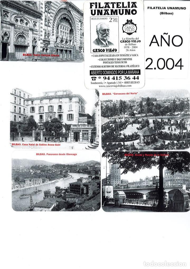 Coleccionismo Calendarios: LOTE DE 78 CALENDARIOS DE BOLSILLO DE LA FILATELIA UNAMUNO desde Año 2000 al 2012 Años Completos - Foto 5 - 166234258